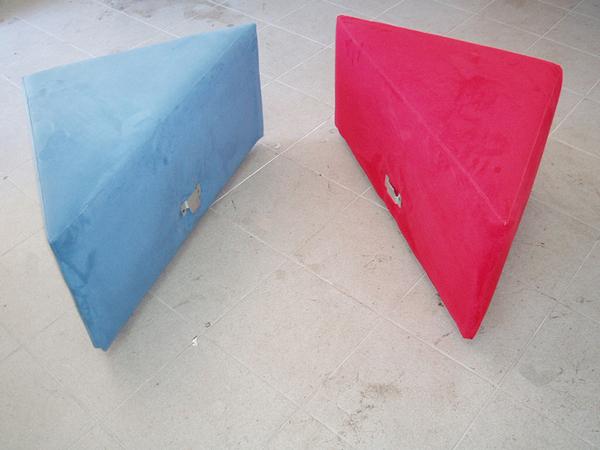 Konstrukcija i tapeciranjeg dvodijelnog taburea